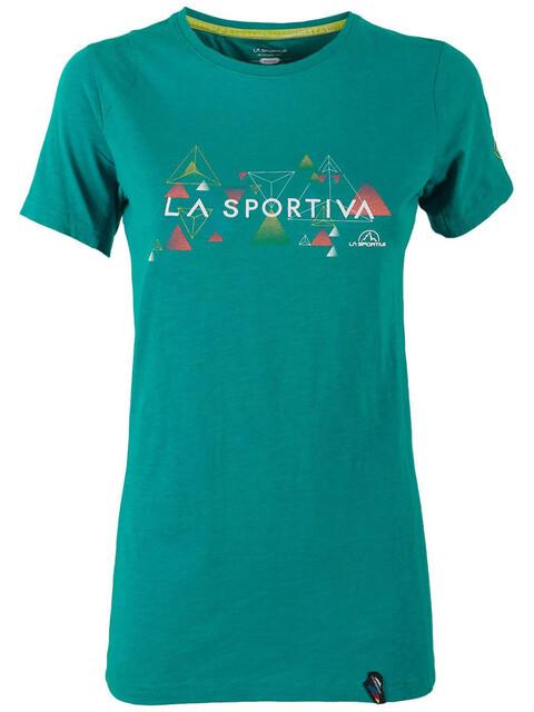 La Sportiva W's Vertriangle T-Shirt Emerald